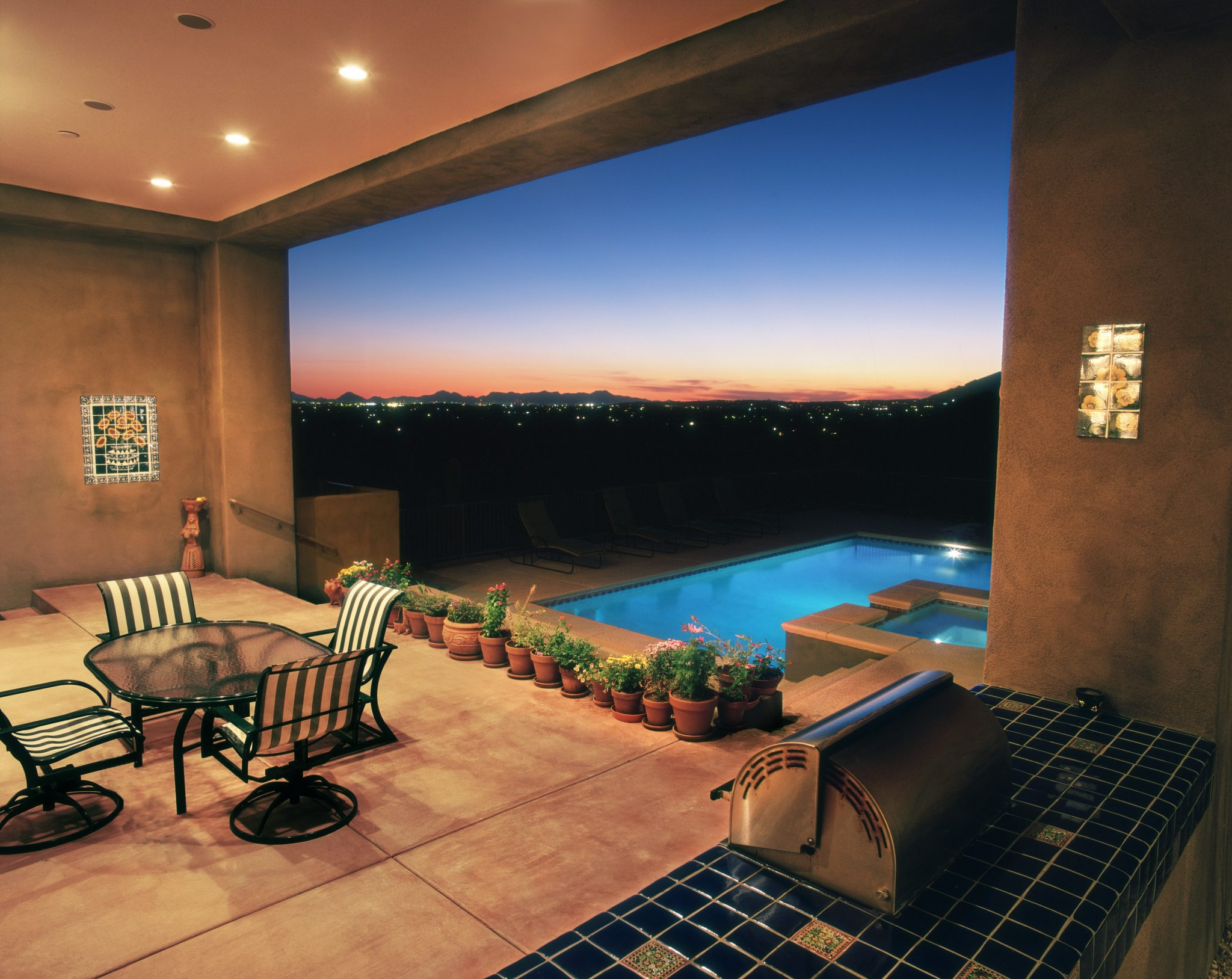 Tucson Hacienda Custom Home