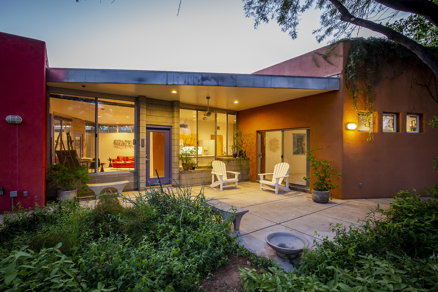 Tucson Modern Home – Contemporary Midtown Compound